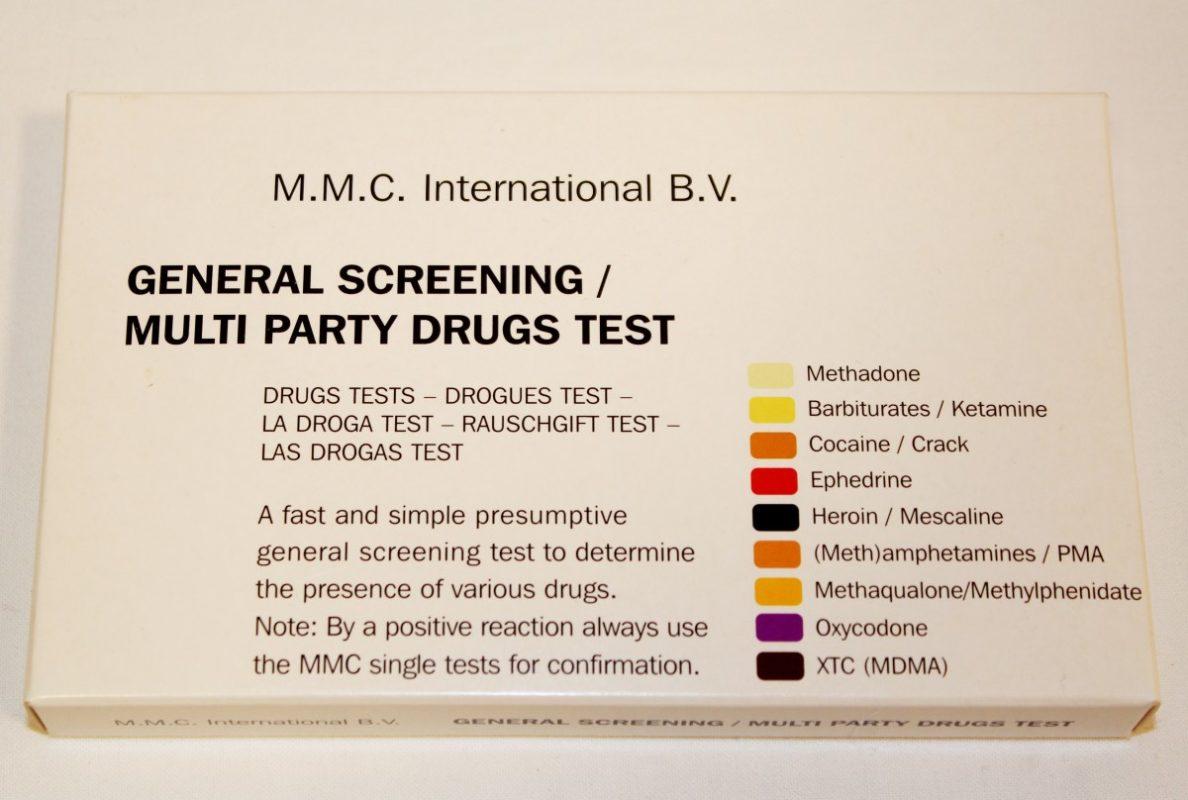 Deteksjonstester narkotika